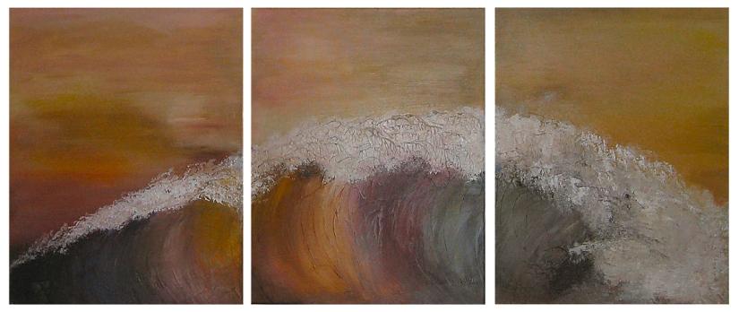 ©Donna Welsh - Rainbow Waves (Theoi Halloi)